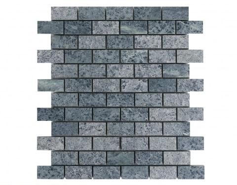Soapstone mosaic (1'' x 2'')