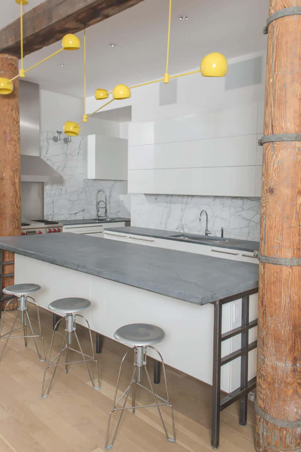 Industrial SoHo Loft Kitchen