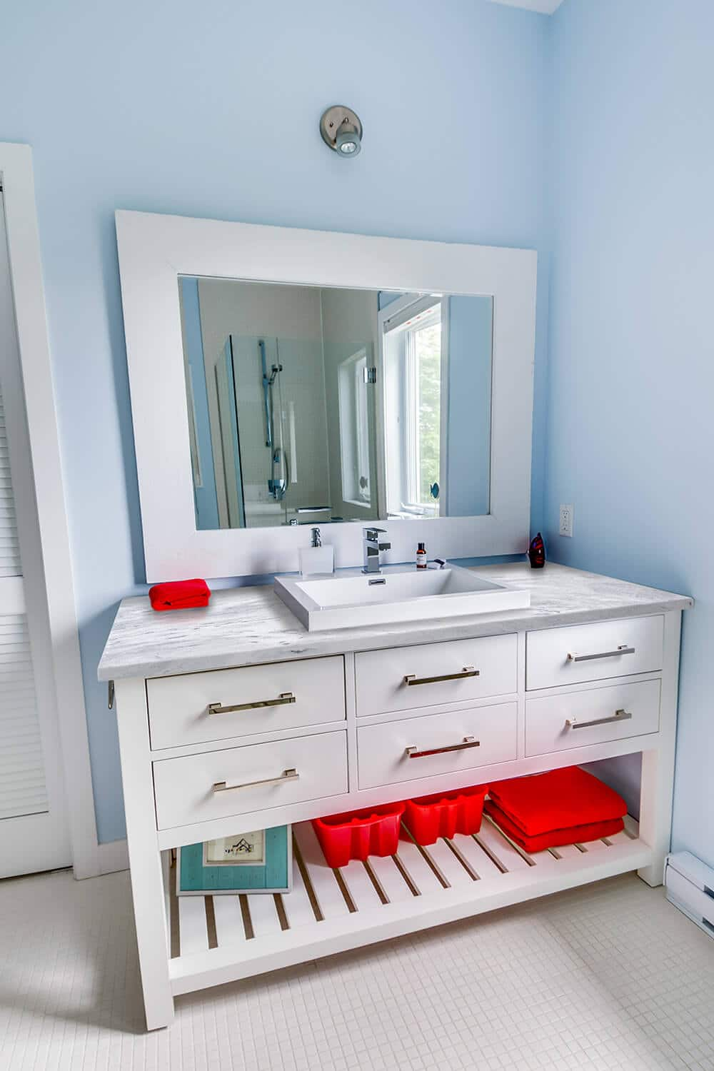 Playful Guest Bath Vanity