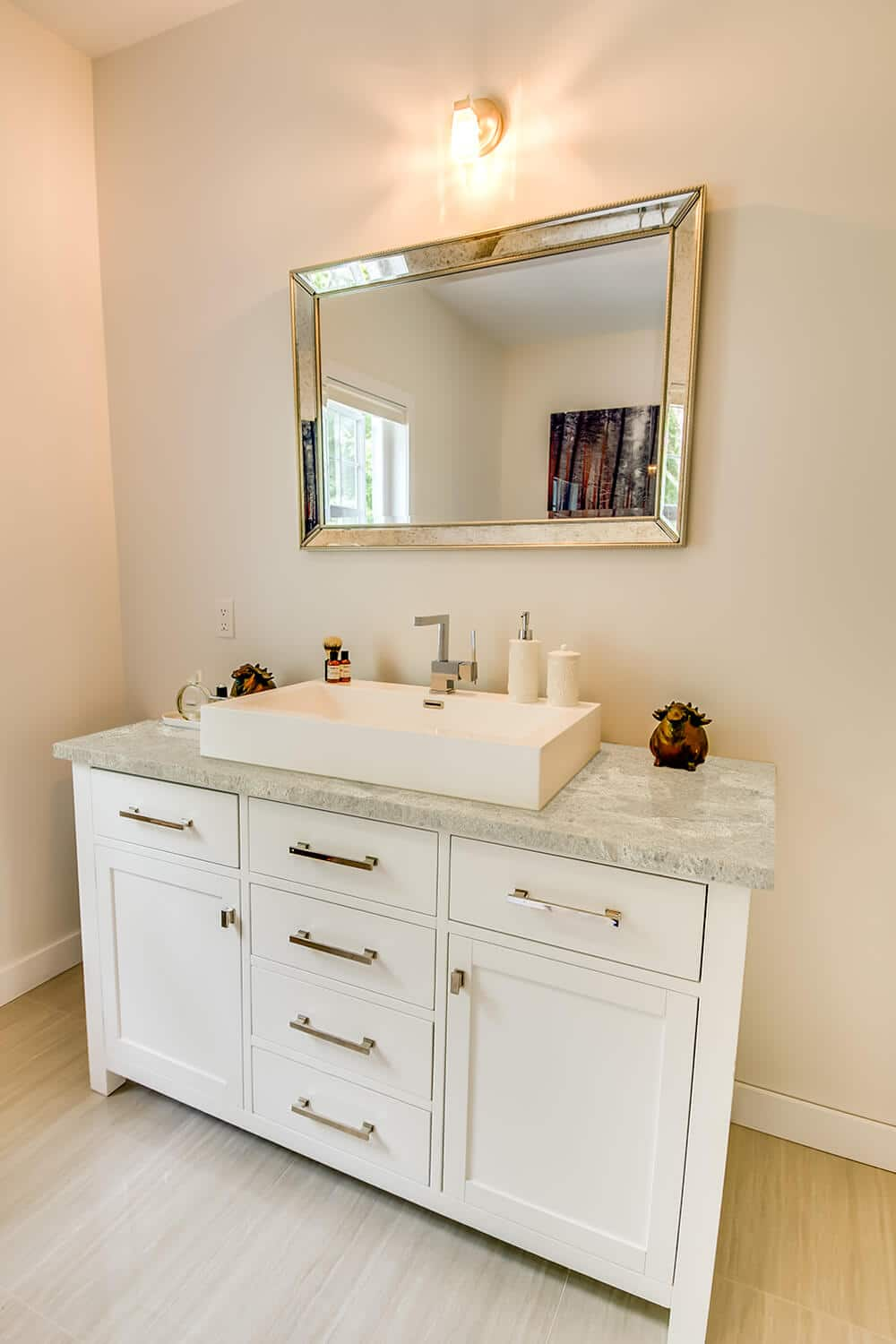 Warm Powder Bath Vanity