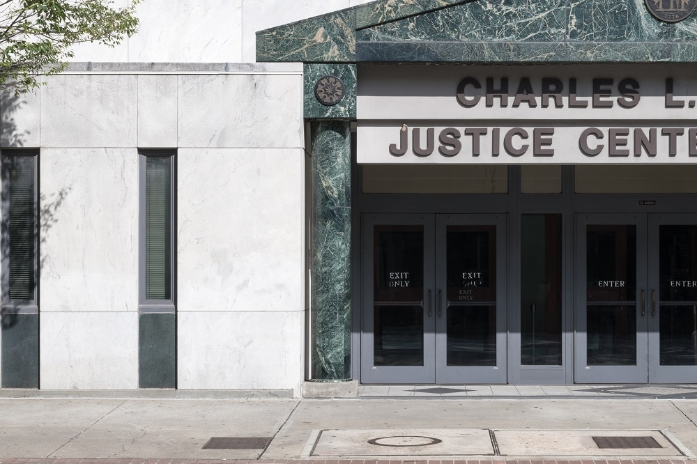 Charles L. Carnes Justice Center Building