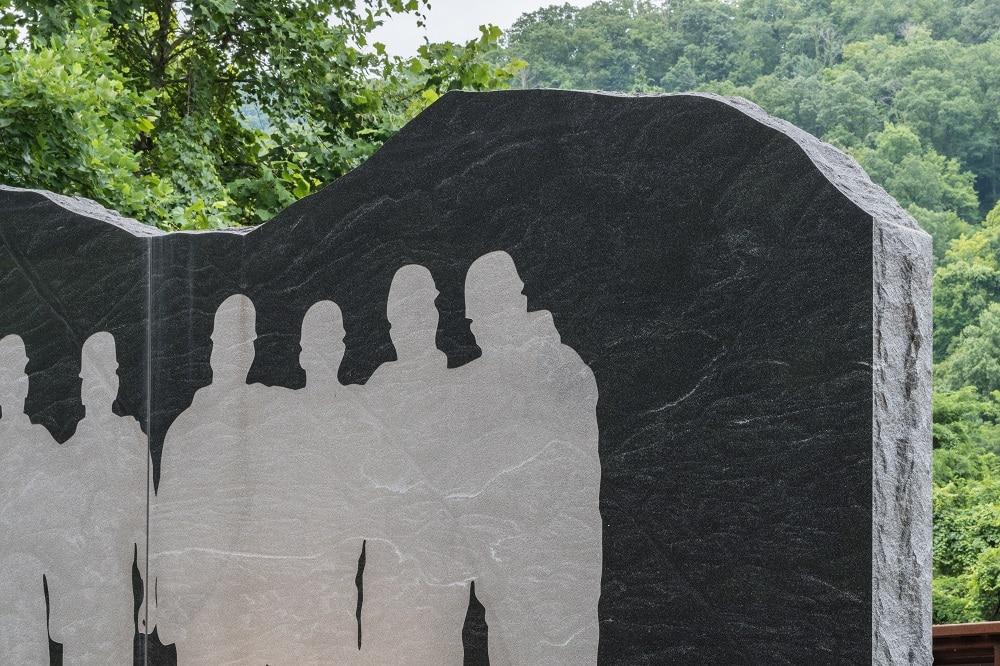 Parc commémoratif à Whitesville