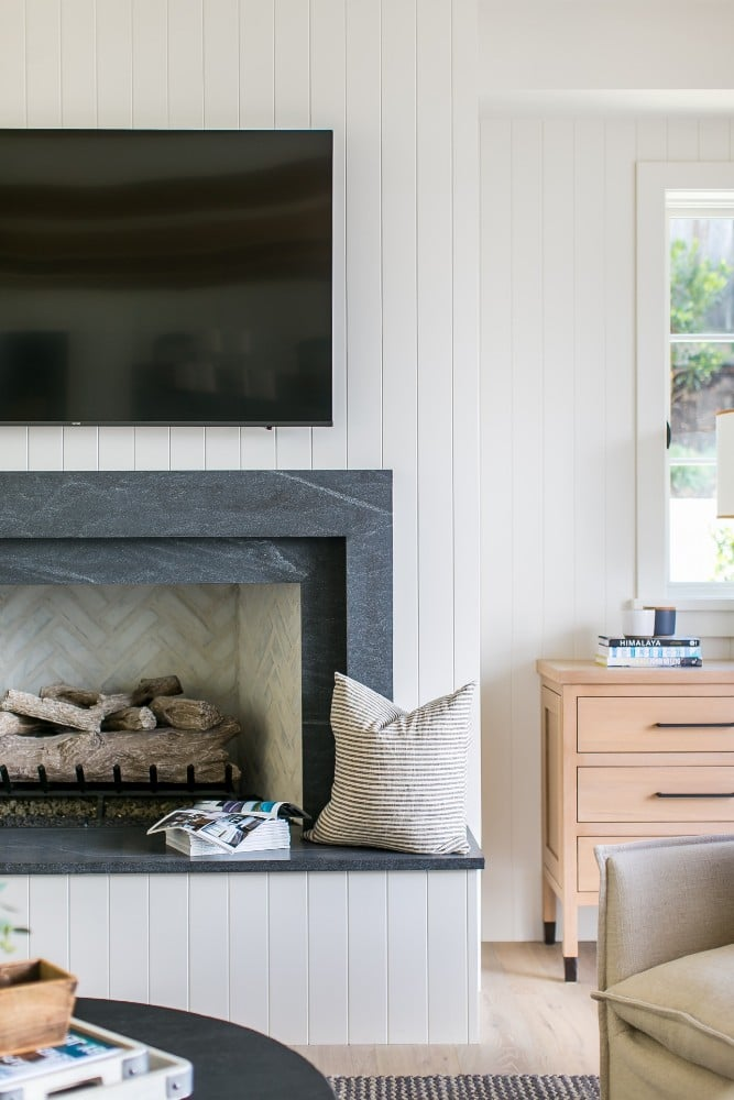 Chic Fireplace Surround