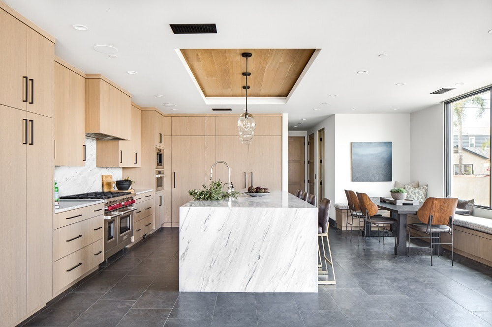 Cool California Beach Kitchen