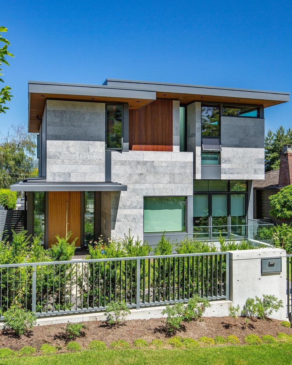Résidence néoclassique à Vancouver