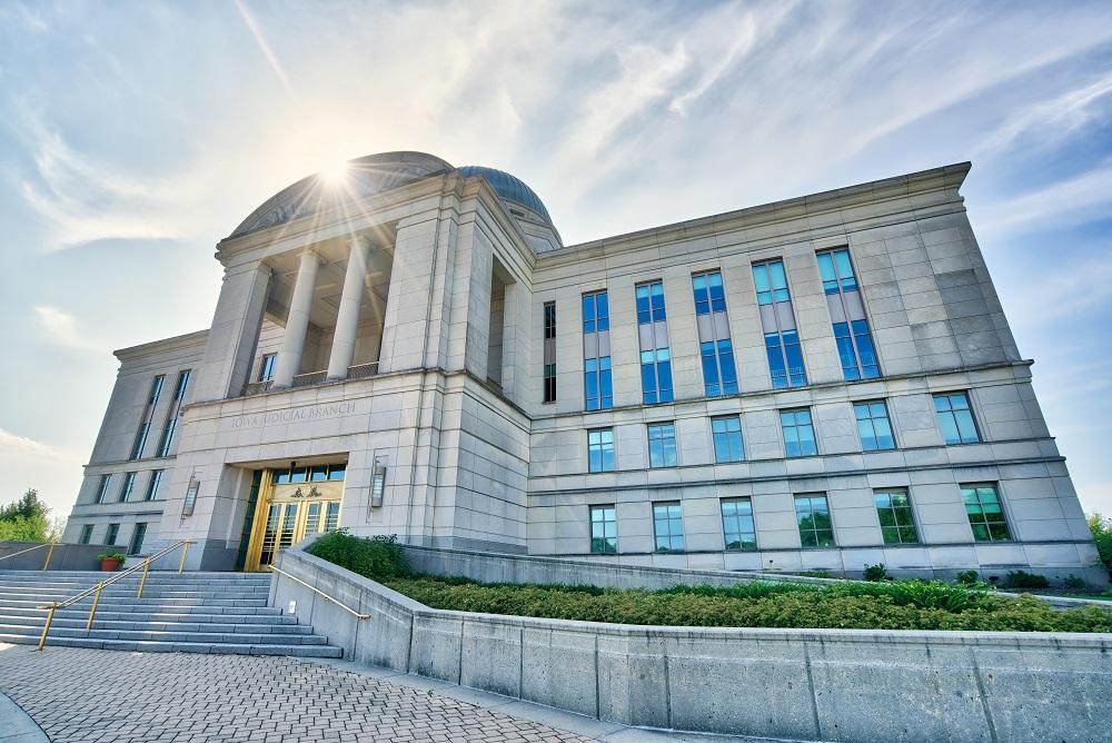 Bâtiment judiciaire d'Iowa