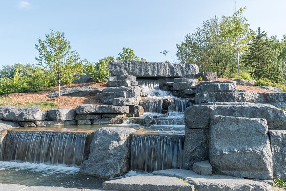 Beaver Lake Fountain