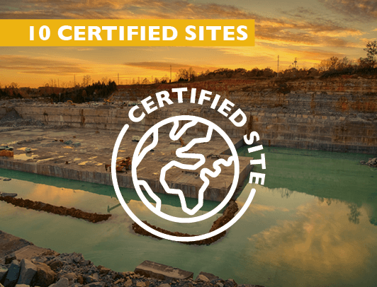 10 Certified Sites