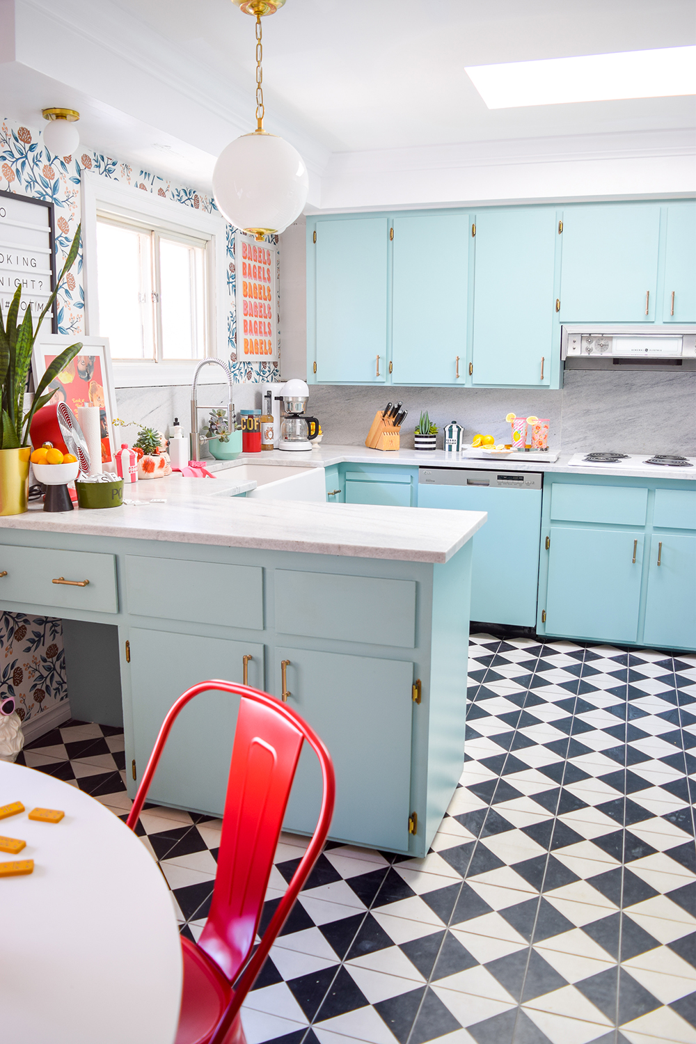 Retro Glam Kitchen